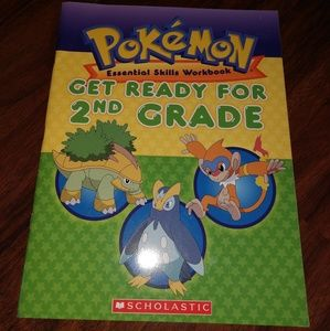 2008 Pokemon essential skills workbook 2nd Grade